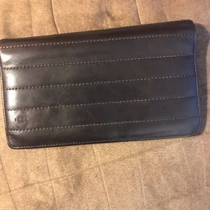 Chanel brown wallet